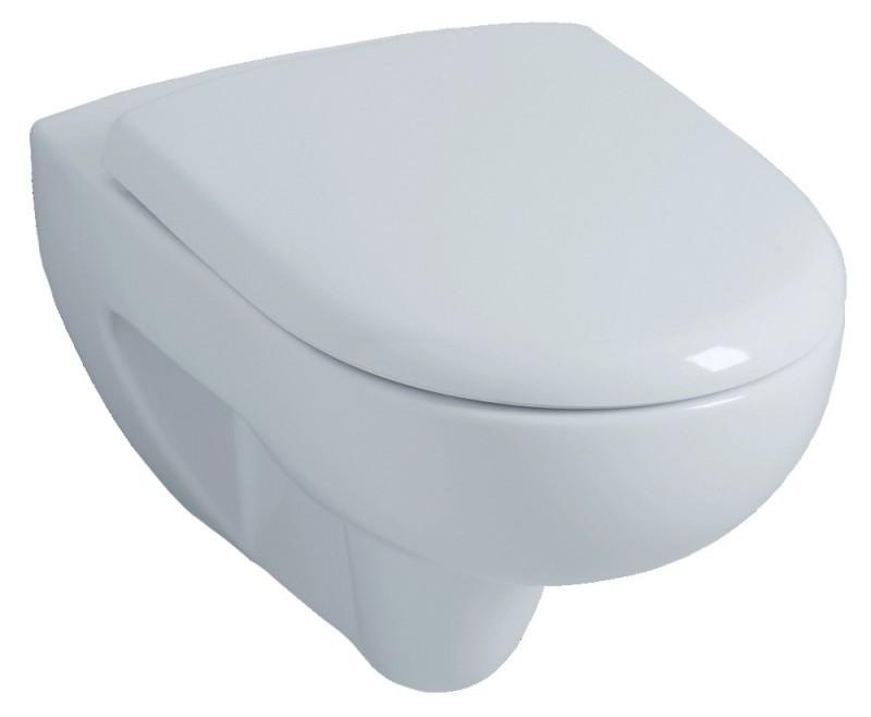 cuvette wc suspendue allia prima avec abattant 54cm blanc. Black Bedroom Furniture Sets. Home Design Ideas