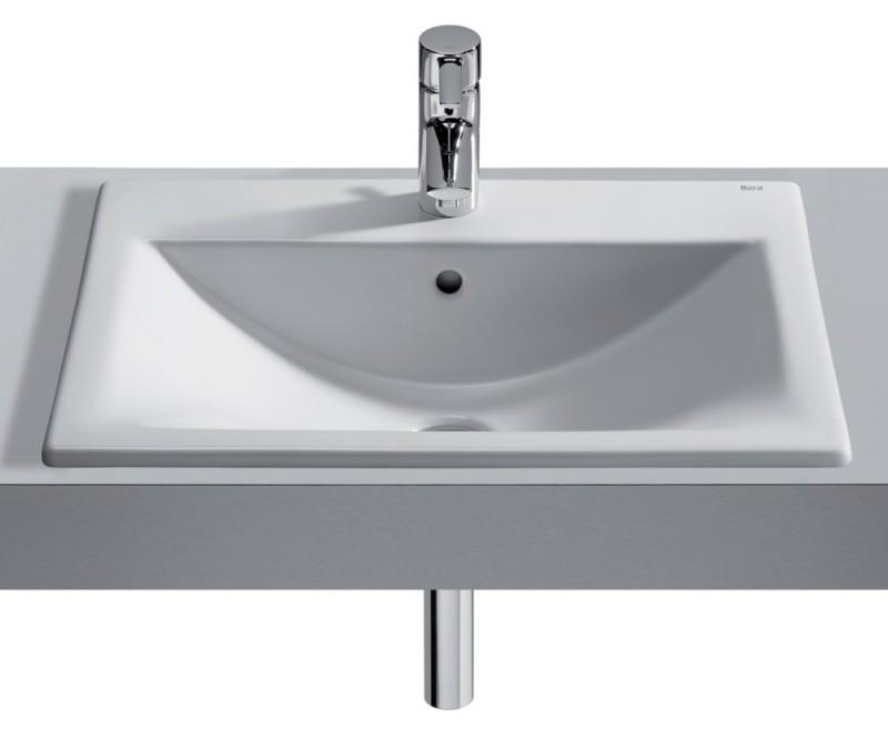 vasque encastrer roca diverta 550x425. Black Bedroom Furniture Sets. Home Design Ideas