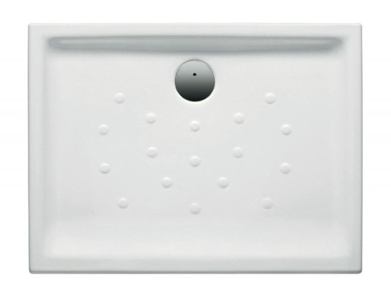 receveur en c ramique malta poser extra plat 120x80 blanc. Black Bedroom Furniture Sets. Home Design Ideas