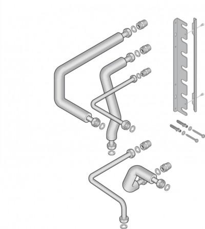 Kit ELM raccord droit Stellis Module 1526