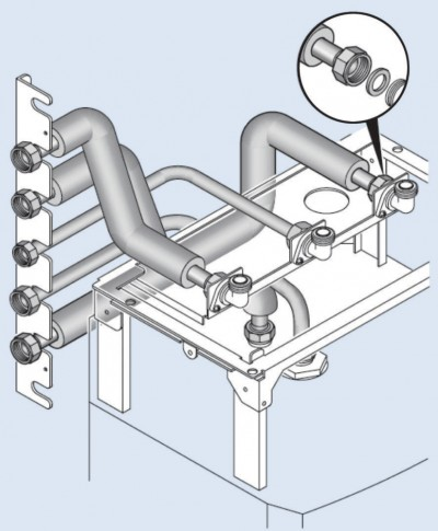 Kit ELM raccord gauche Stellis Module 1525
