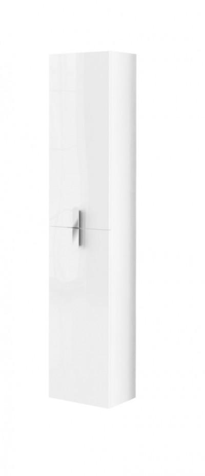 Colonne 2 portes réversibles New Anco galbé - Blanc - Anconetti