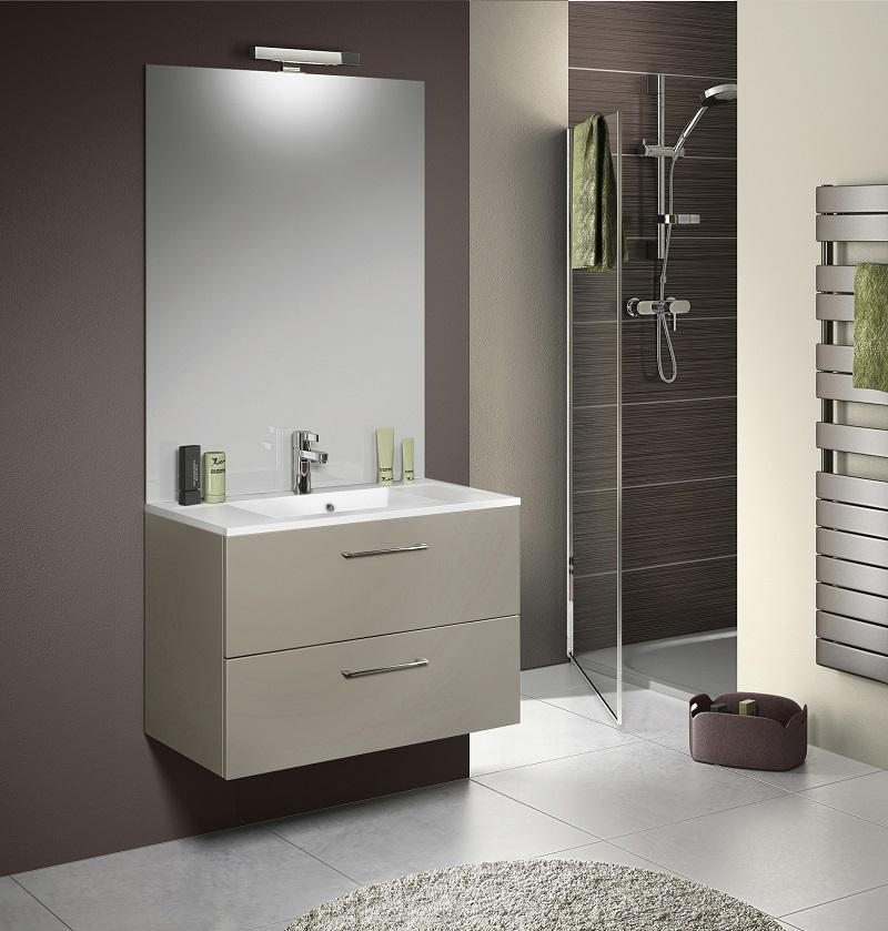 Plan vasque avec miroir
