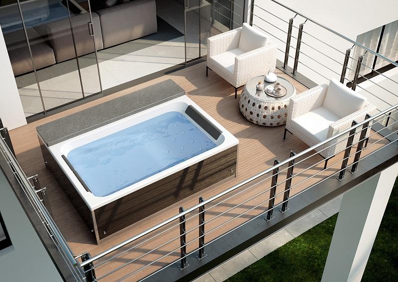 Spa à poser sur terrasse